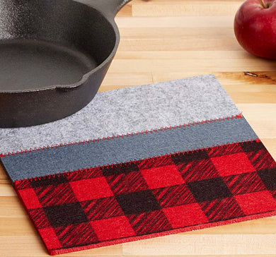 Cabin Life Buffalo Plaid Trivet