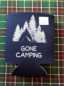 Camping Can Koozies