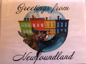Newfoundland Greeting Cards - 5 Varieties