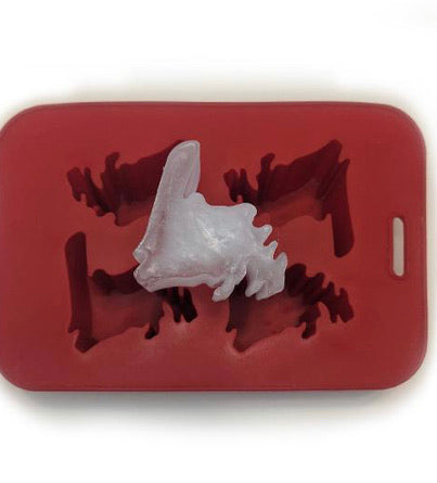 Silicone Newfoundland Map Ice Cube / Chocolate Tray