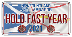 HOLD FAST YEAR 2021 *Limited Edition* License Plates