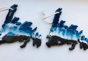 Newfoundland Resin Ornament