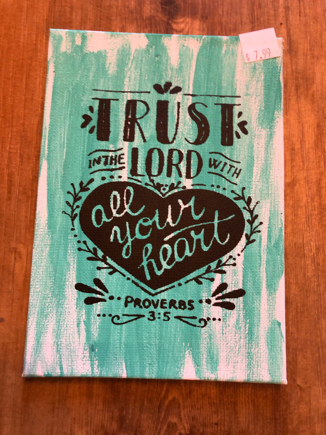 Trust in the Lord large fridge magnet