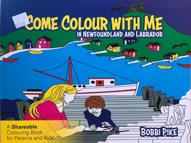 Come Colour With Me in Newfoundland & Labrador Colouring Book