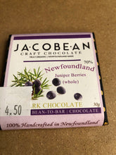 Load image into Gallery viewer, JacoBean Organic Newfoundland Chocolate 30g - 6 Flavours