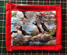 Load image into Gallery viewer, Puffin Fabric Mug Mats