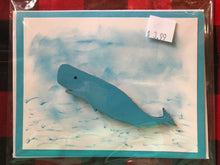 Load image into Gallery viewer, Handmade 3D Whale Card