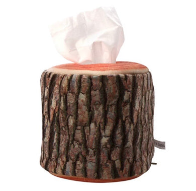 Cabin Life Faux Birch Log Tissue or Toilet Paper Holder