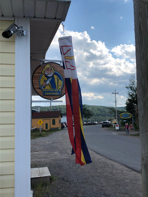 Newfoundland flag windsock