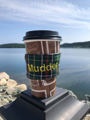Newfoundland Tartan Coffee Sleeve - Newfie Sayings