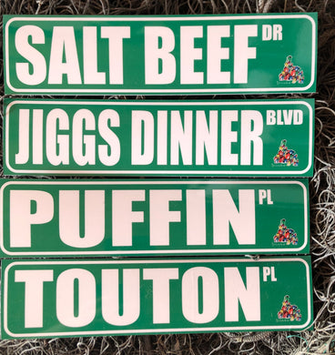 Newfoundland Phrase Novelty Signs