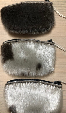 Seal Skin Handmade Coin Purses