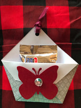 Load image into Gallery viewer, Handmade tea bag / chocolate/ gift card holders