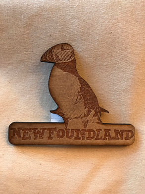 Laser Engraved Atlantic Puffin Magnet