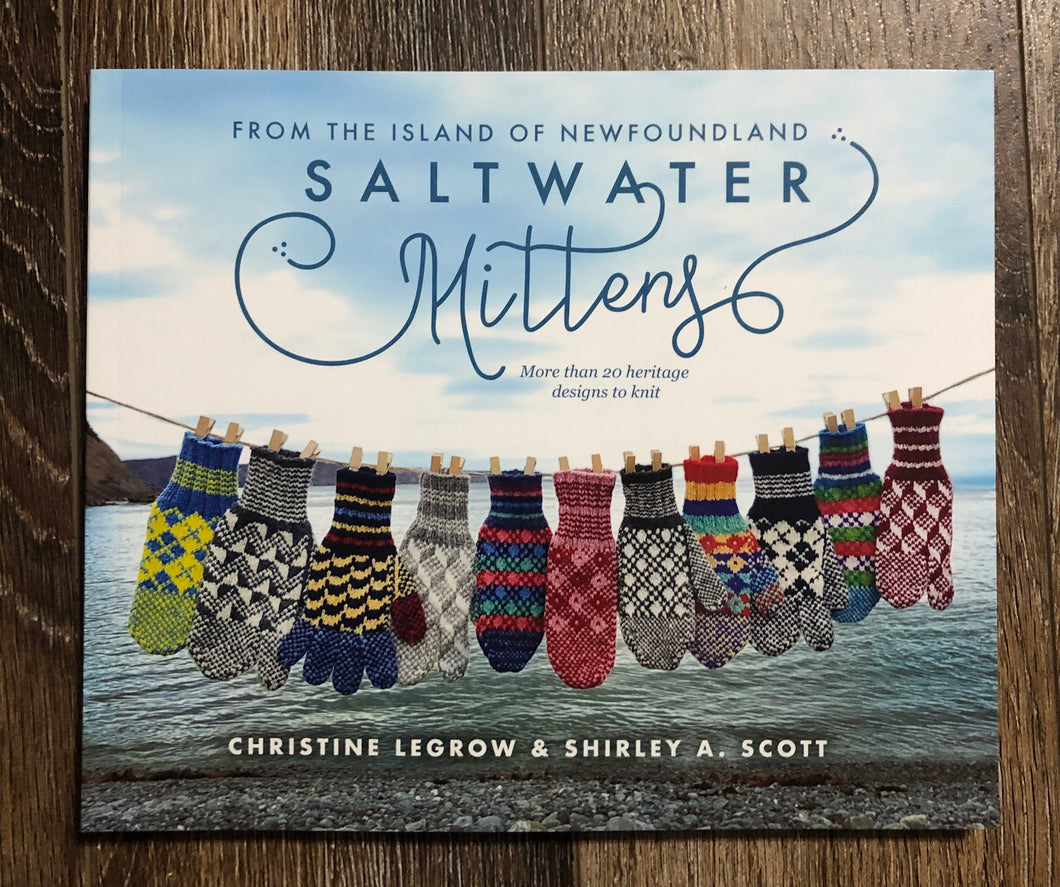Saltwater Mittens Book - Over 20 heritage designs to knit