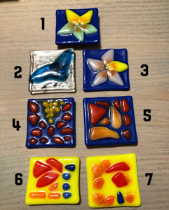 Fused Glass Fridge Magnets
