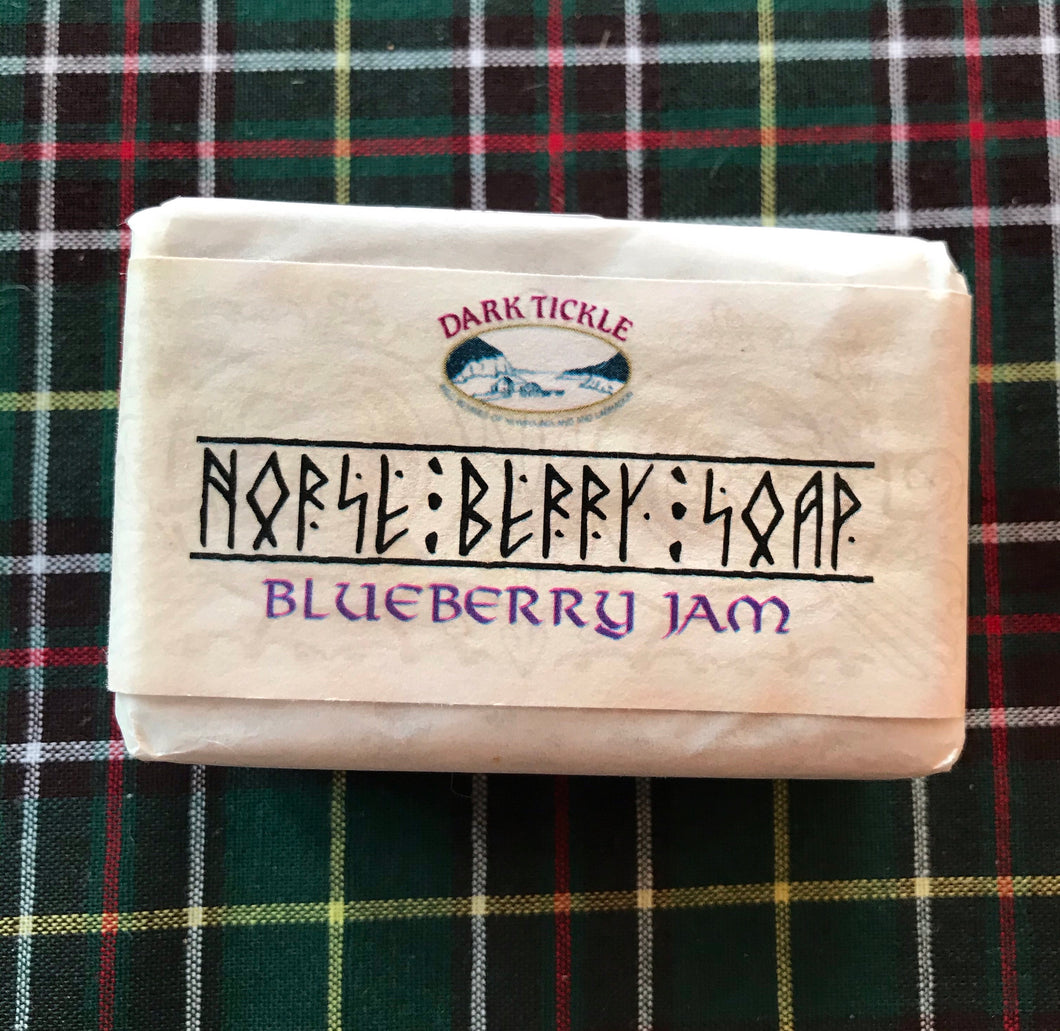 Dark Tickle Blueberry Jam Soap