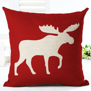 Moose pillow covers - 2 colors