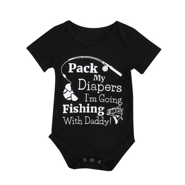 Pack the diapers onesie