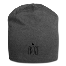 Load image into Gallery viewer, FROZE Newfoundland Jersey Beanie - charcoal gray