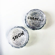 Load image into Gallery viewer, The Festive Titanium dusts Snow and Chamkili