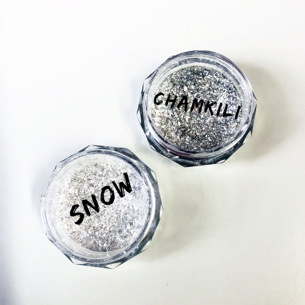 The Festive Titanium dusts Snow and Chamkili