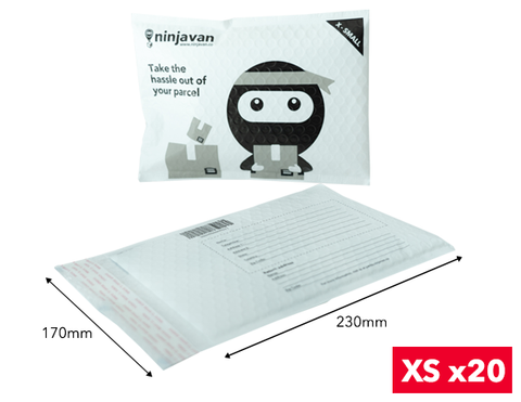 Padded Ninja Packs XS (bundle of 20)