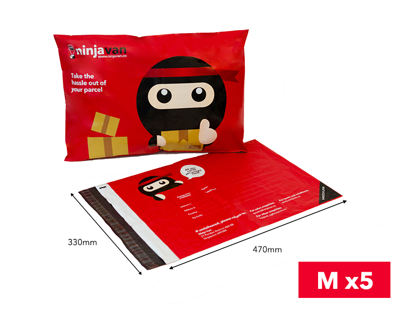 Ninja Packs M size x5