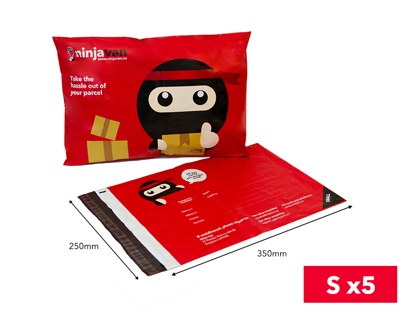 Ninja Packs S bundle of 5