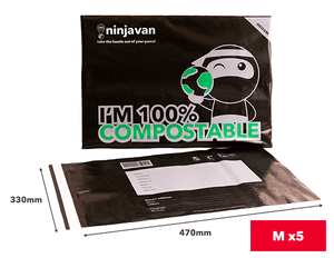 Eco Ninja Packs M (Bundle of 5)