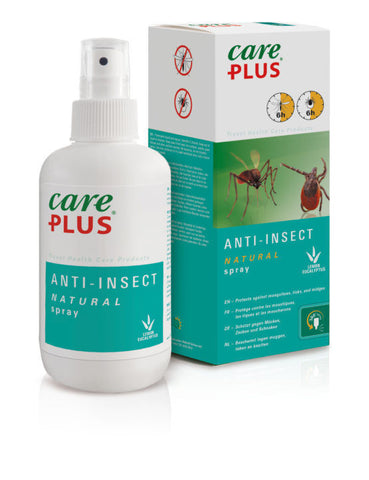 Care Plus Insect Repellent, Natural 30% Citriodiol Spray (200ml)