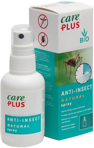 Care Plus Insect Repellent, Natural 30% Citriodiol Spray (60ml)