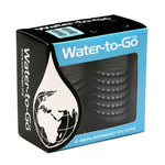 Water To Go, Replacement Purifying Filters for 750ml Bottles - (Twin-Pack)