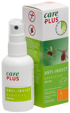 Care Plus Insect Repellent, Sensitive 12.5% Saltidin Spray (60ml)