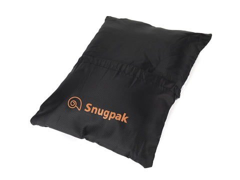 Snugpak Snuggy Pillow - Black - Extremely Lightweight, Compact Travel Comfort