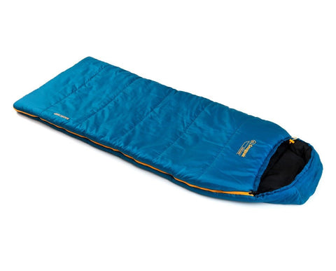 Snugpak Basecamp Explorer - [Petrol Blue] - Excellent Sleeping Bag for Kids!