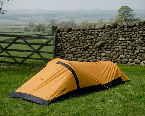 Snugpak Journey Solo Tent - Single Person Bivvi Shelter & Inner Mosquito Net