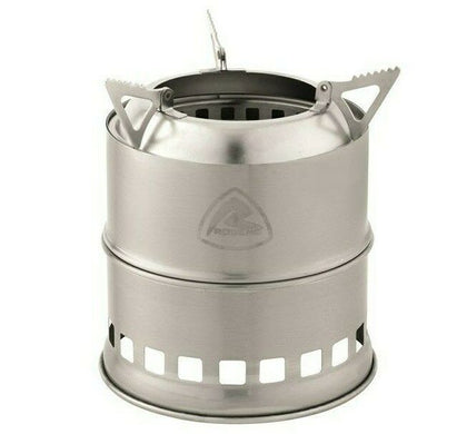 Robens Lumberjack Wood Stove - Simple Wood-Burning Stove for Camping