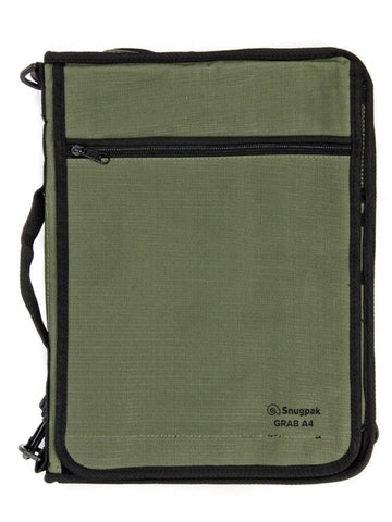 Snugpak Grab A4 - Olive - Perfect Bag for Document and Map Holding