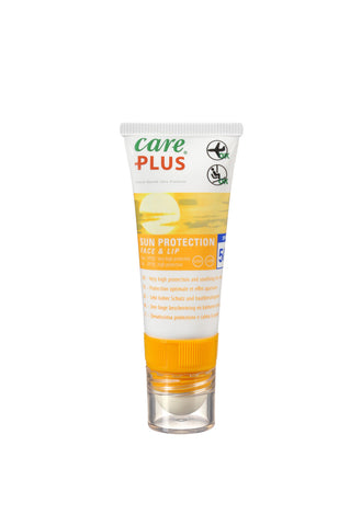 Care Plus Sun Care - Face & Lip, SPF50 Sun Protection + SPF30 Lip Balm