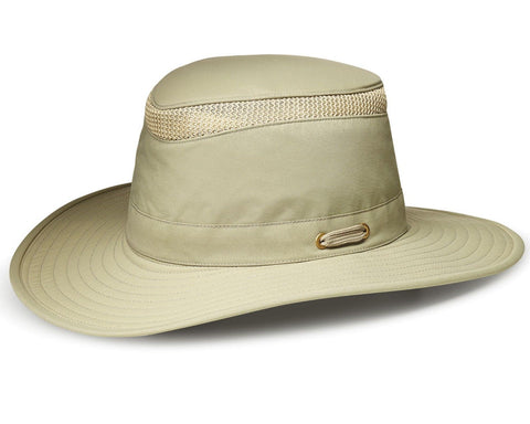 Tilley WideBrim Airflo Hat - [LTM6 - Khaki Colour] - UPF50+ Sun Protection