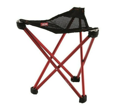 Robens Geographic Stool - Red - Standard & High Sizes