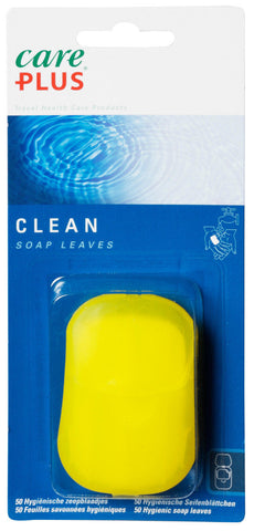 Care Plus Soap Leaves - Convenient, Pocket-sized Cleanliness