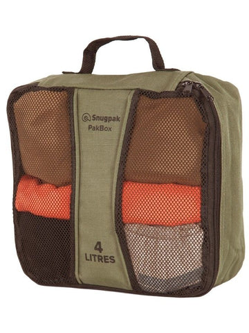 Snugpak PakBox - Olive, 4 Litre Size - Perfect for storage organisation