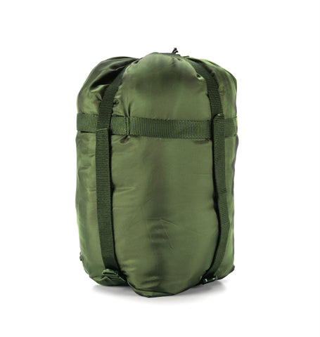 Snugpak Compression Storage Stuff Sack - Olive and Black - UK Made