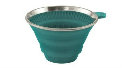 Outwell 'Collaps' Collapsible Coffee Filter Holder - (Blue/Green)