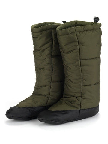 Snugpak Insulated Tent Boots  - Olive and Black
