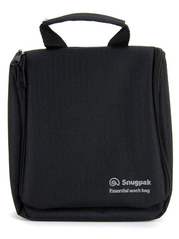 Snugpak Essential Wash Bag - Black and Olive for Effective Storage