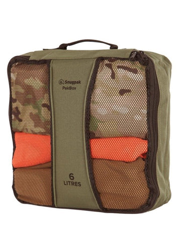 Snugpak PakBox - Olive, 6 Litre Size - Perfect for storage organisation