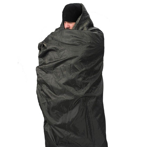 Snugpak Insulated Jungle Travel Blanket - XL (Extra Long), Olive & Black